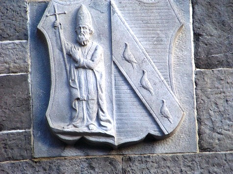 St. Patrick Cathedral - Exterior carving