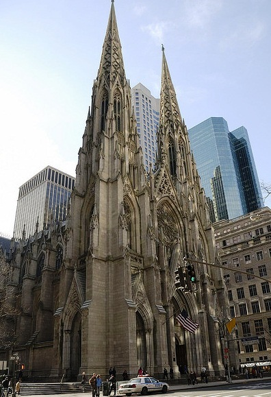 St. Patrick Cathedral - Exterior design