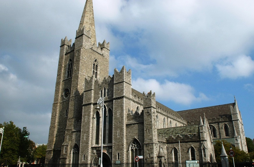 St. Patrick Cathedral - Imposant structure