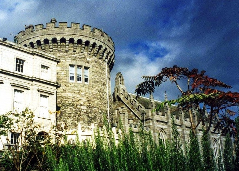 Dublin Castle - Tower view