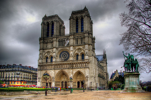 Notre Dame de Paris - Beautiful facade