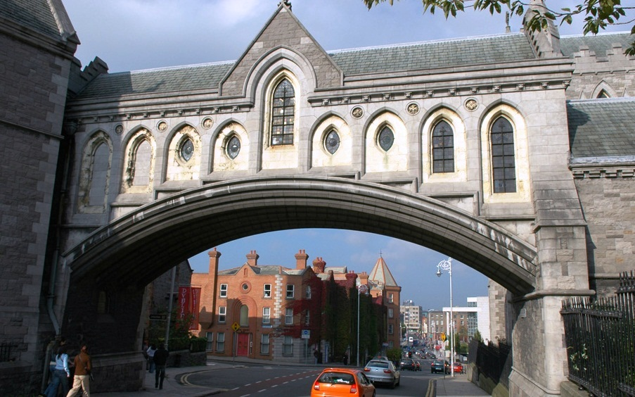 Christ Church Cathedral - Bridge view