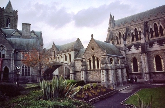Christ Church Cathedral - Courtyard
