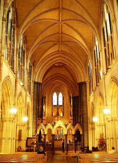 Christ Church Cathedral - Interior view