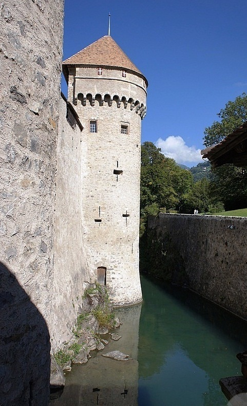 Chateau de Chillon Castle - Medieval structure