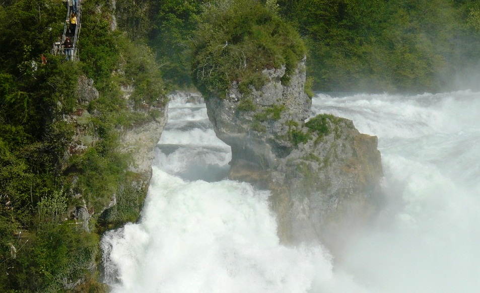 Rhine Falls - Great view