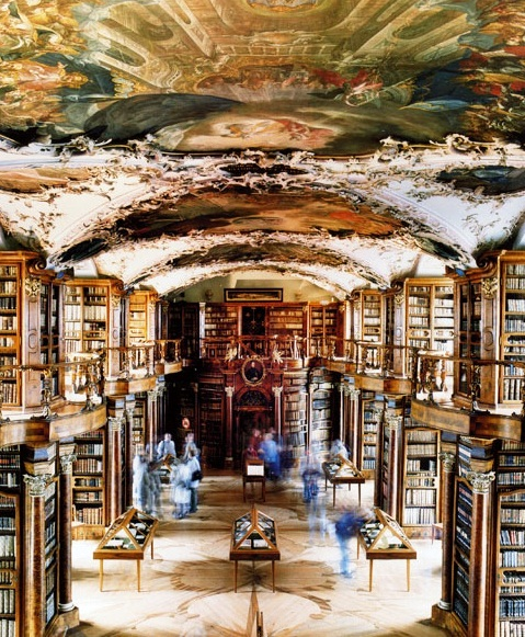 St.Gallen - Abbey Library