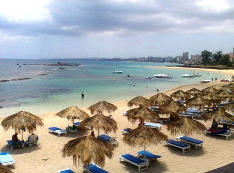 Famagusta - Beach view