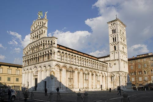 Lucca - San Michele Church