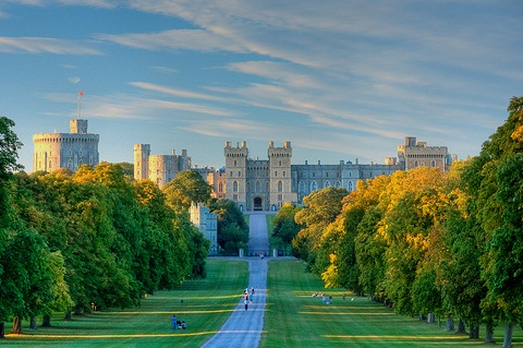 Images The Windsor Castle Legendary Place Picturesque Scenery 12475