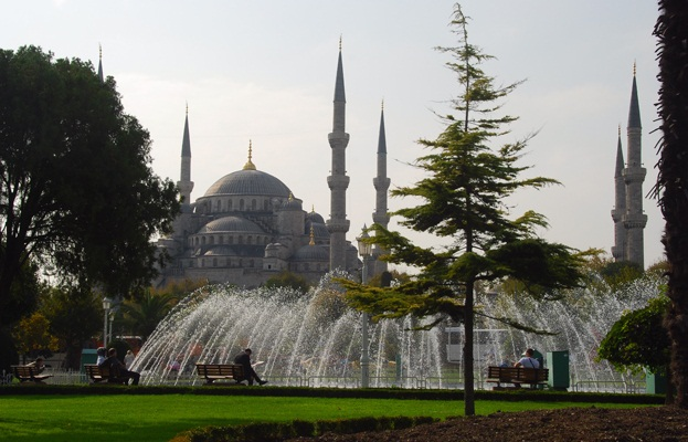 Istanbul-European Capital of Culture - Classic Fountain