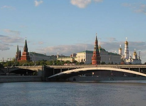 Moscow-one of the largest cities in the world - Panorama view