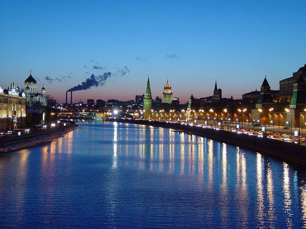 Moscow-one of the largest cities in the world - The Moscow river