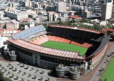 Johannesburg - Stadium view