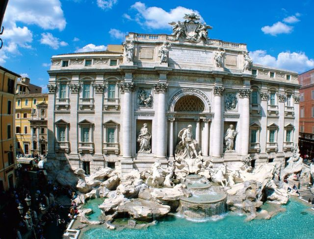 Rome - Trevi Fountain