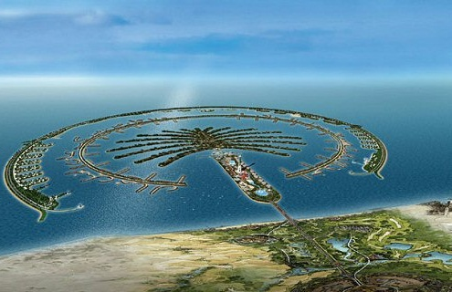 Dubai-the shopping capital city of the Middle East -  The Palm Islands