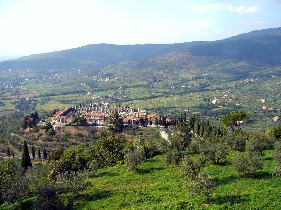 Cortona - Beautiful setting