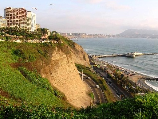 Lima - Cliffs view