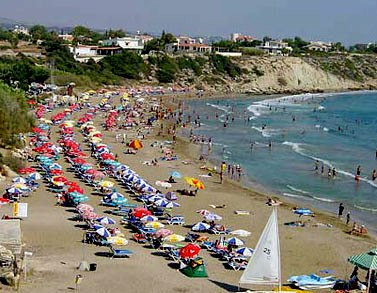 Cyprus –Aphrodite's land - Huge beach