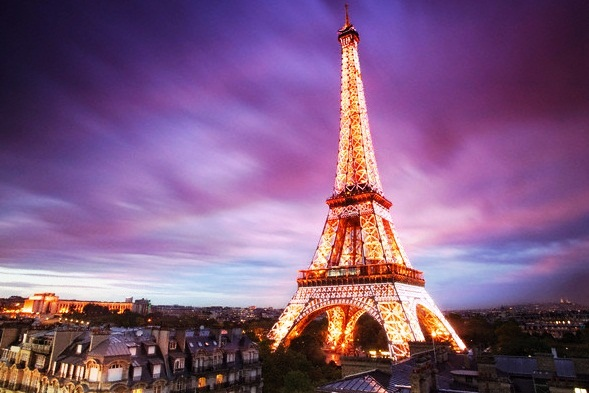 The Eiffel Tower - Majestic structure