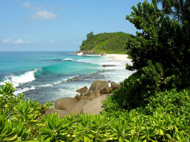 The Seychelles Islands- tropical romantic destination   - Magical scenery