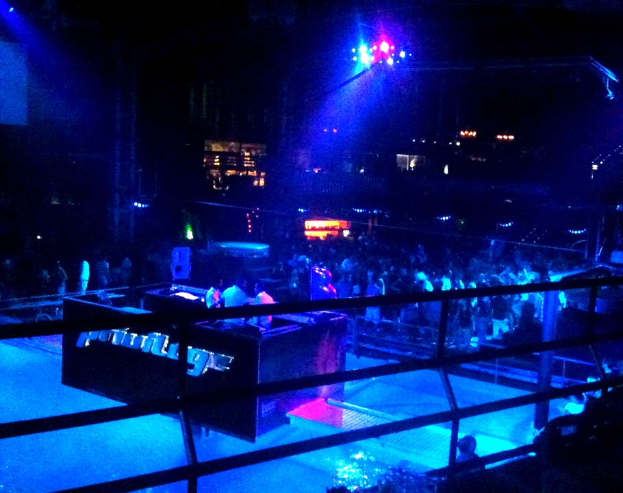 The biggest Night Club in the world   - Privilege Ibiza -  swimming pool
