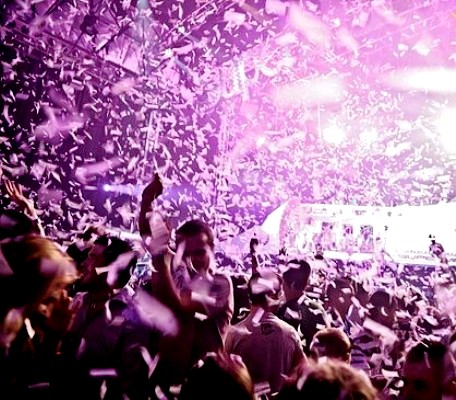The biggest Night Club in the world   - Privilege Ibiza - Amaizing fireworks in the club