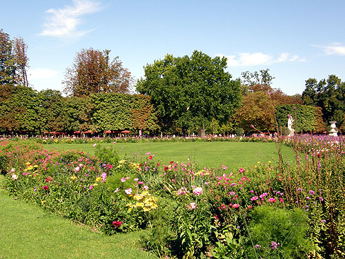 The Tuileries Gardens - Beautiful landscape