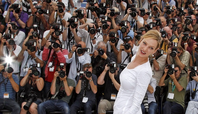 The Cannes International Film Festival   - World-known actress