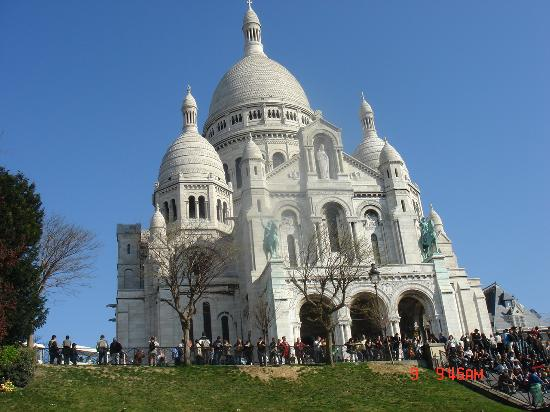 Sacre Coeur and Montmartre - Great design