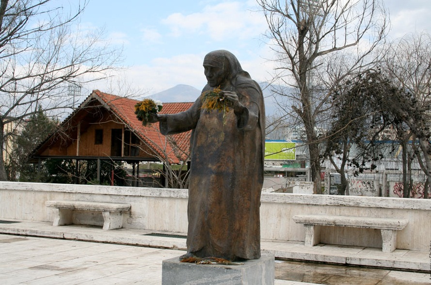 Tirana-a capital to remember - Mother Theresa Monument