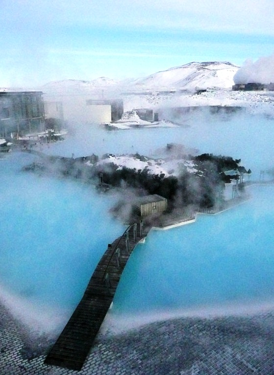 The Blue Lagoon in Iceland - Splendid view