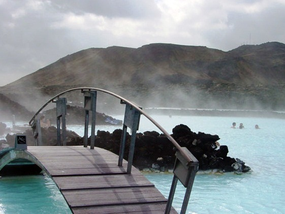 The Blue Lagoon in Iceland - Superb view