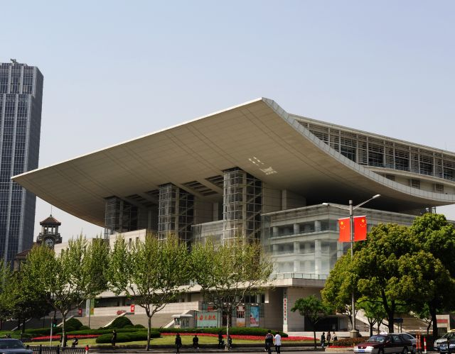 The Shanghai International Film Festival - An unusual architecture