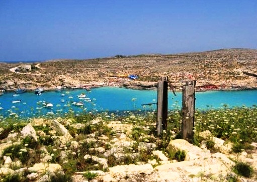 Blue Lagoon of Malta - Spectacular view