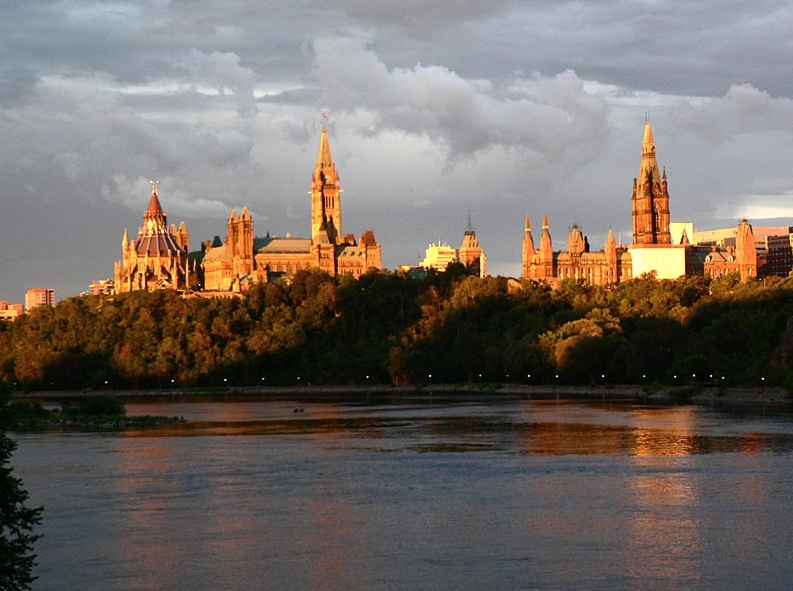 Ottawa - Magnific view of the Parliament Hill