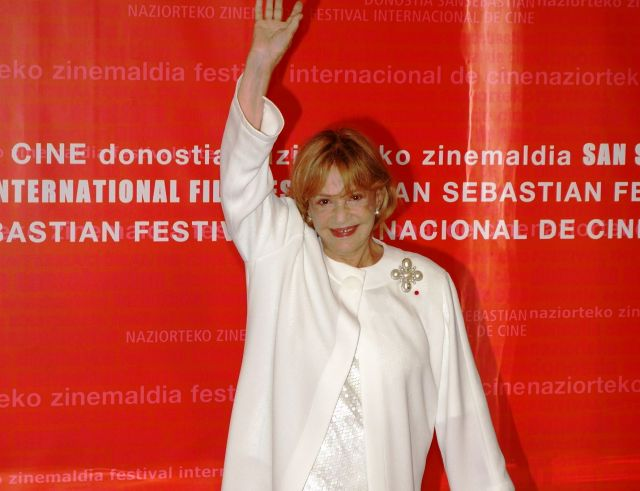 The International Film Festival in San Sebastian - Jeanne Moreau