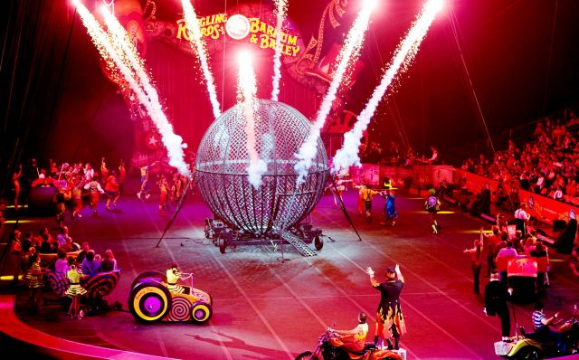Ringling Brothers and Barnum & Bailey - Interesting entertainments