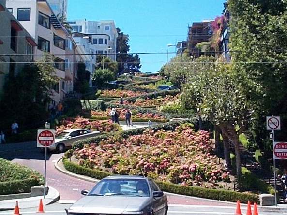 Lombard Street - Interesting design