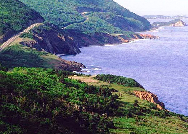 Cabot Trail - Fantastic panorama