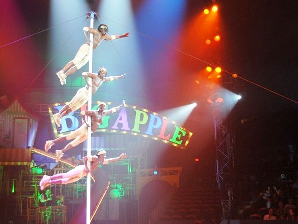 Big Apple Circus – the most generous in the world - Great view