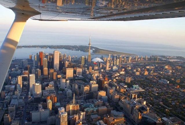 Toronto - Wonderful aerial view