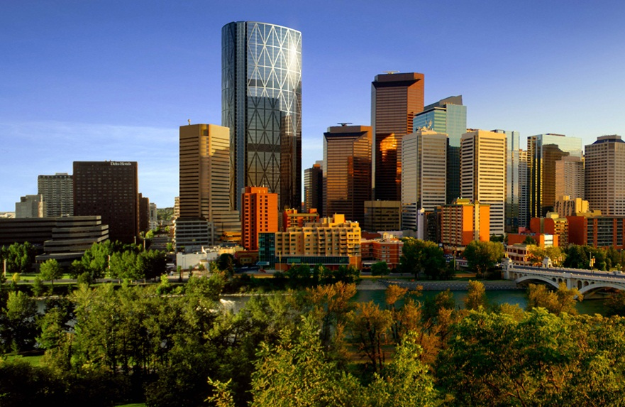Calgary -  Magnificent view