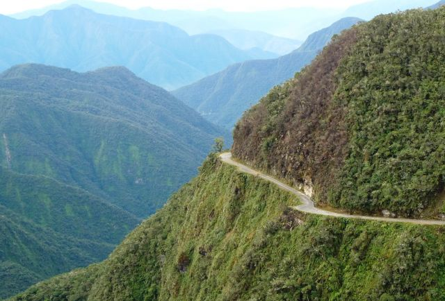 The Old Yungas Road  - Beautiful view