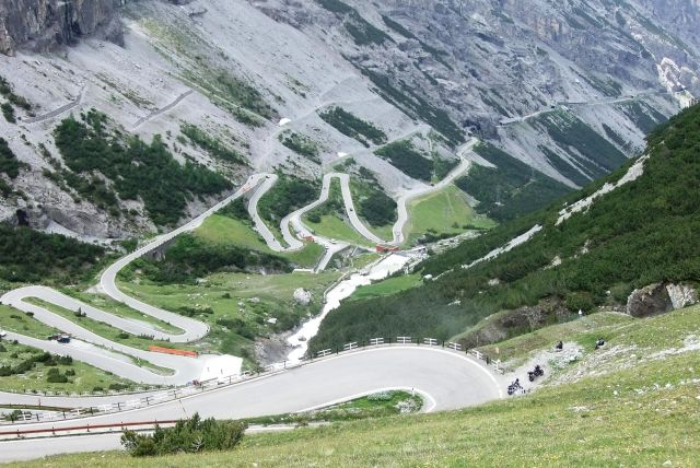 The Stelvio Pass Road - A rough highway