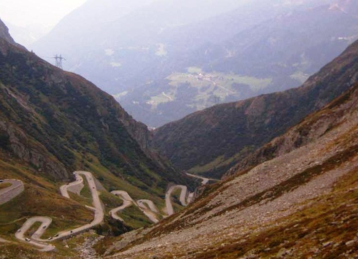 The Gotthard Pass-mysterious road in Switzerland - Scenic masterpiece