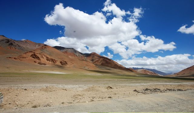 The Leh-Manali Highway - Amazing sky