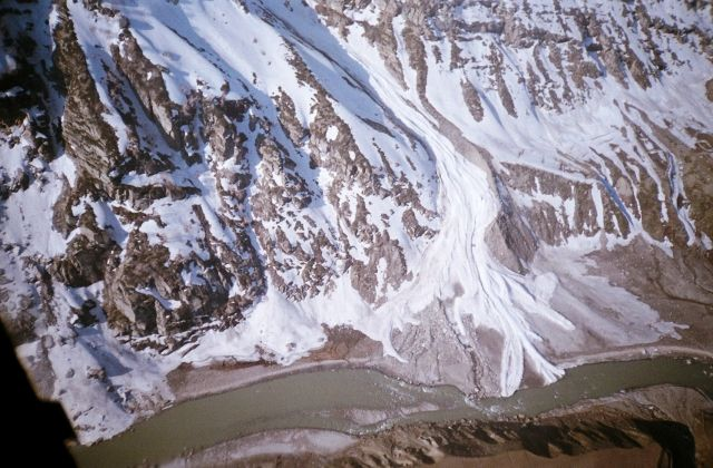 The Leh-Manali Highway - An avalanche