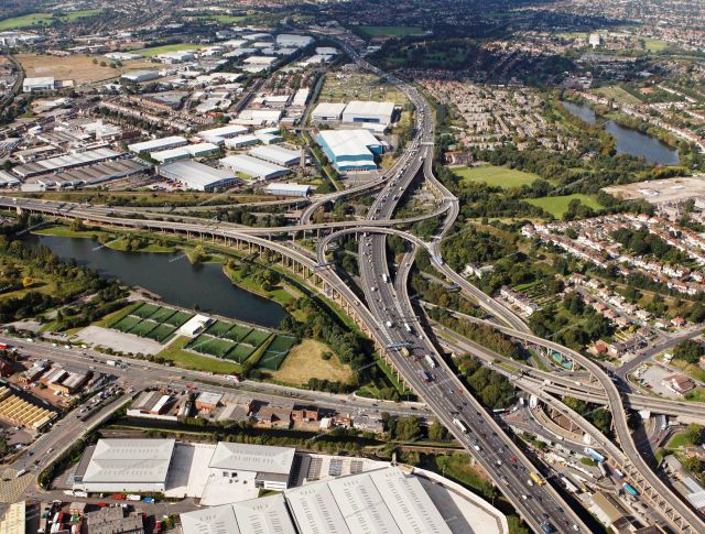 The Gravelly Hill Interchange - The Spaghetti Junction