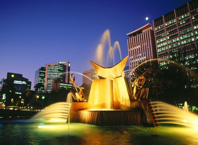 Adelaide - Victoria Square Fountain